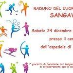 Locandina raduno degli sportivi Natale 2016