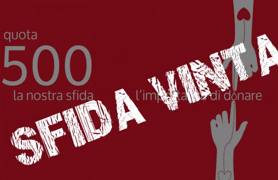 500 unità: sfida vinta