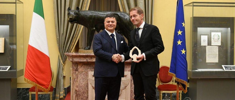 AVIS premiata alla Camera tra le 100 Eccellenze Italiane