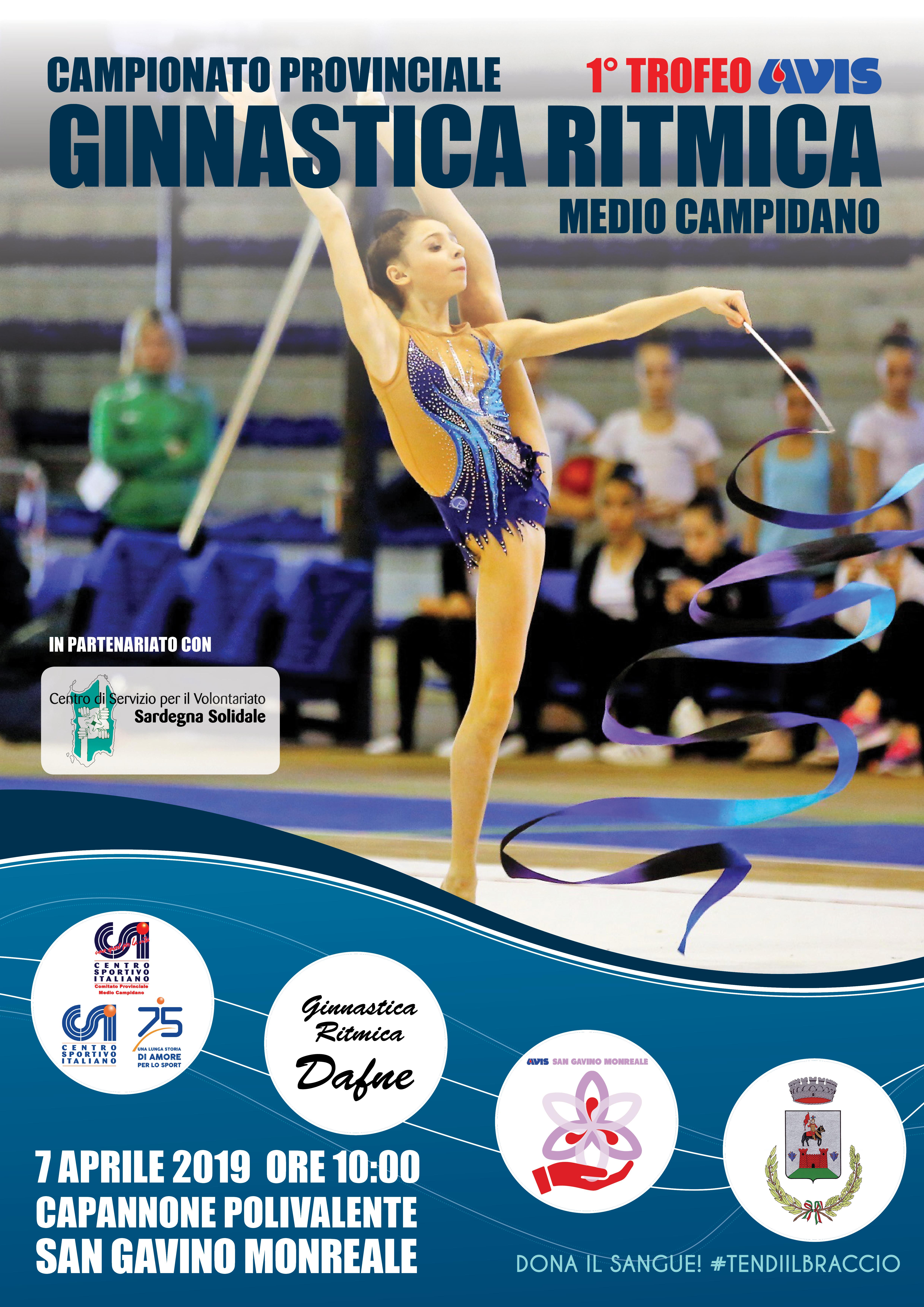 1° Trofeo AVIS - Campionato Provinciale di Ginnastica Ritmica