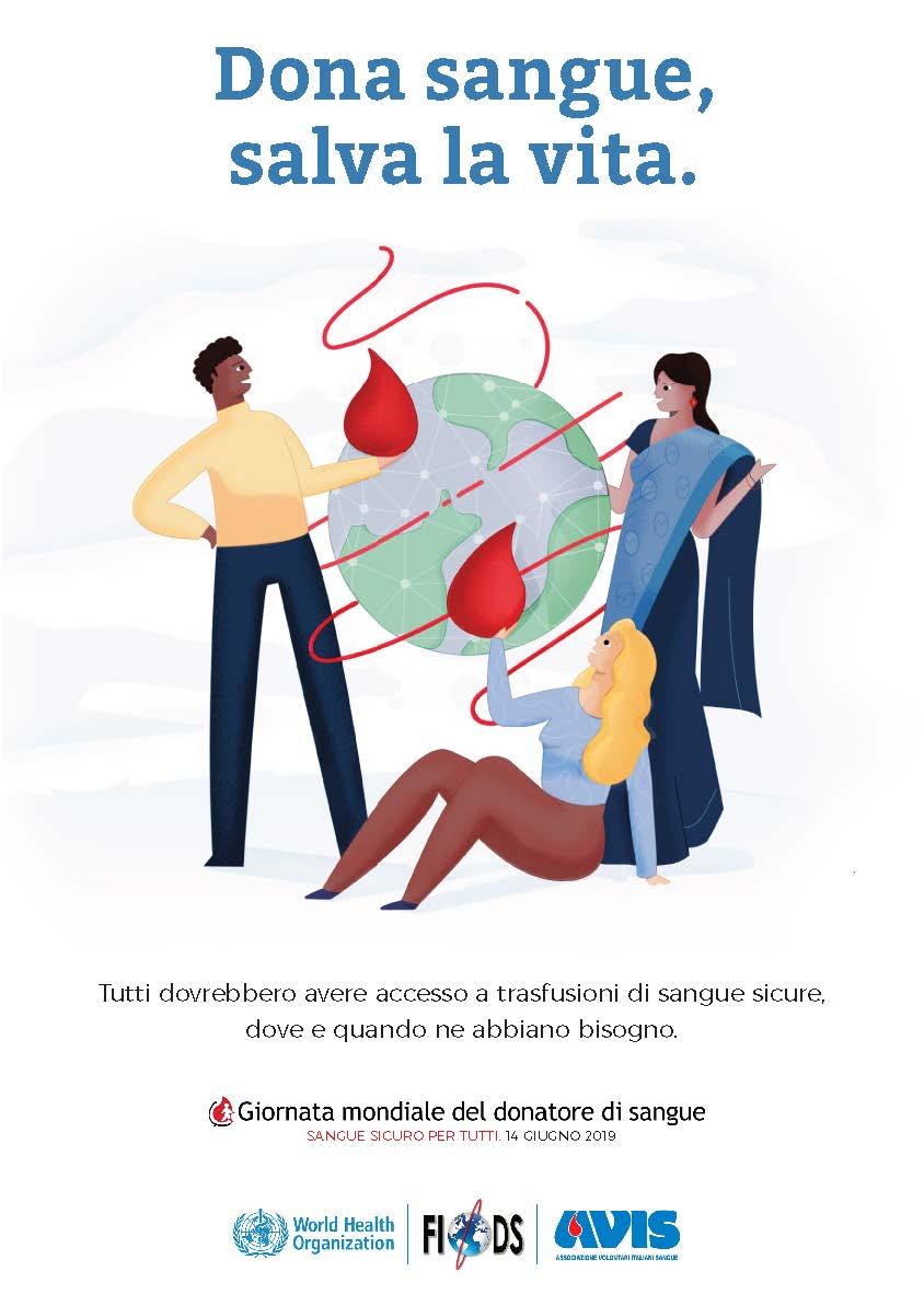 Giornata Mondiale del Donatore di sangue 2019