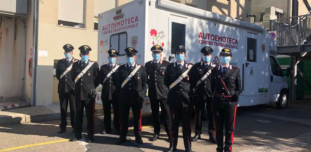 I Carabinieri della Stazione di San Gavino